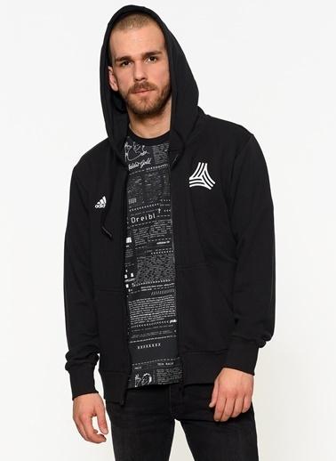 Kapüşonlu Fermuarlı Spor Sweatshirt-adidas